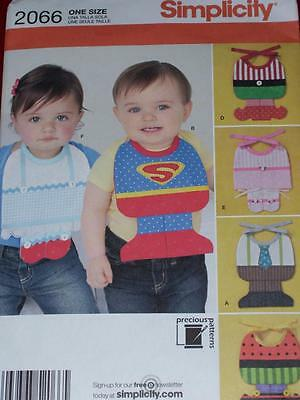 SIMPLICITY #2066 - CUTE INFANT ~ DESIGN YOUR OWN ~ BIB COSTUME PATTERN  OZ  FF - Design Your Costume