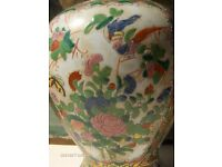 beautiful Vintage Chinese Vase With Lid Large