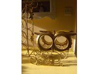 Vintage Metal 15 Bottle Wine Rack Glass Bottle Holder In Good