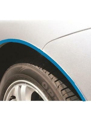 BLUE CHROME Wheel Arch Moulding Finishing Bead Strip Protector MC18 (WA1/BC) for sale  Glasgow