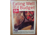 Vintage (1987) paperback Eating Well on a Budget cookery book. ISBN 0-86242-053-9