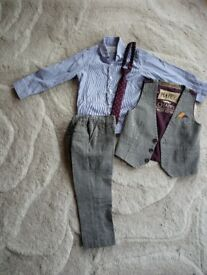 Boys 4 piece suit, aged 3-4 years old
