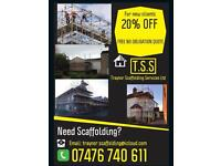 Scaffolding services 20% OFF NEW CLIENTS