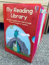 Usborne reading book set only £10