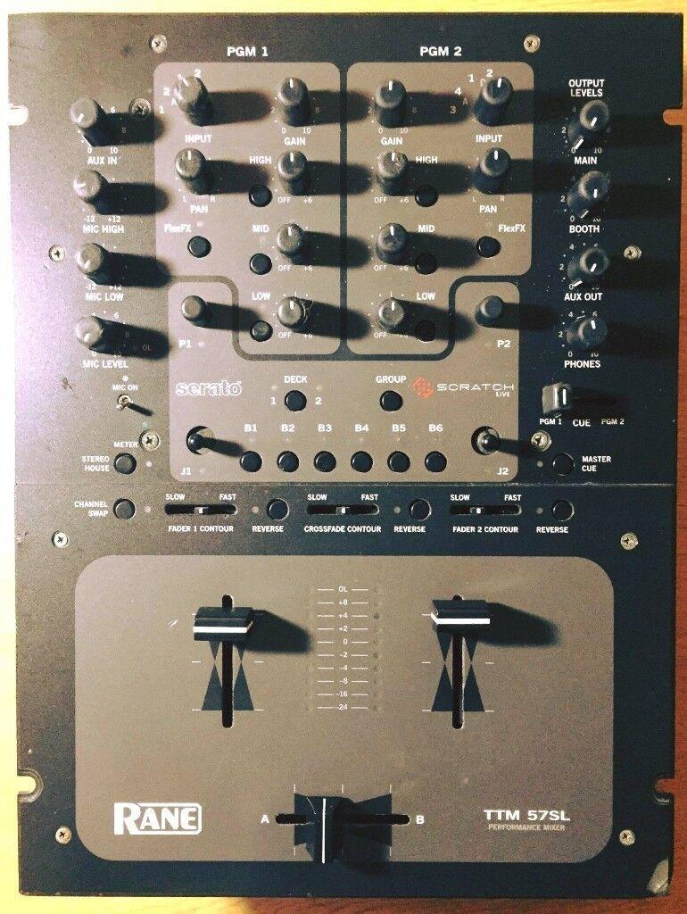 Rane TTM 57SL with built in Serato Scratch Live
