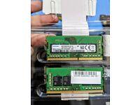 Samsung 32GB (16GB x 2) DDR4 PC4-25600 3200MHZ 260 Pin SODIMM 1.2V CL22 Laptop RAM Modules