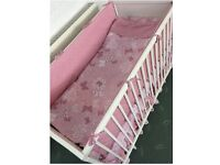 Handmade 7 piece set for Cot (Cot and mattress are not included)