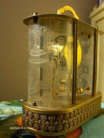 Vintage 8 day Schmid-Schlenker musical clock for Spare or Repair