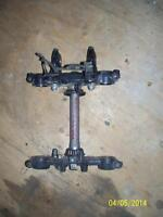 Suzuki DR200 triple clamps triple trees