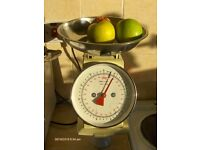 Household Scales ,Salter With Pan