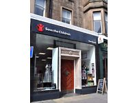 Marchmont Road Save the Children Charity Shop! Join Our Team!