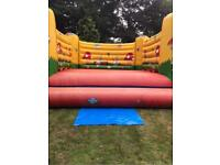22' x 22' bouncy castle