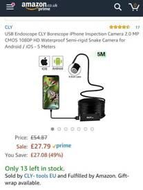 USB Endoscope Inspection Camera