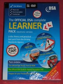 'Official DSA Complete Learner Pack' DVD & PC-CD Boxset (new)