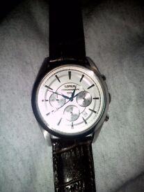 Lorus chronograph watch 50m