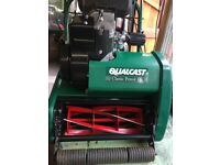 Qualcast Petrol 35s Lawnmower FULLY REFURBISHED and Sharpened