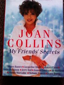 ORIGINAL FAMOUS JOAN COLLINS 'MY FRIEND'S SECRETS' TRULY EVERGREEN BOOK