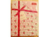 CATH KIDSTON VERY RARE DISCONTINUED PINK 'PROVENCE ROSE ' SINGLE DUVET COVER SET BEAUTIFUL NEW