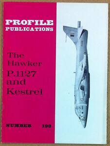 Aeronautica - Profile Publications - N° 198 - The Hawker P.1127 and Kestrel - Italia - L'oggetto può essere restituito - Italia