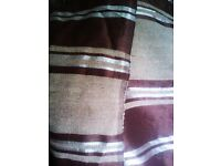 BRAND NEW VERY LARGE REALLY BEAUTIFUL REAL RAW SILK & 100% COTTON SOFA OR BED SPREAD, THROW, COVER