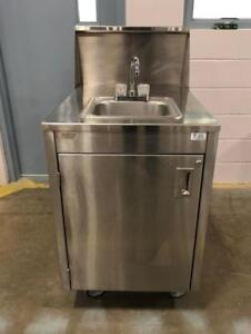 Portable Wash Station/Hand Sink - Blow Out Sale