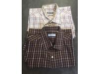 8 x size 17 / XL long sleeve shirts