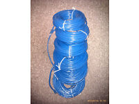 6 x 10 and 15 metre rolls of Cat 6 RJ45 internet cable, brand new and unused