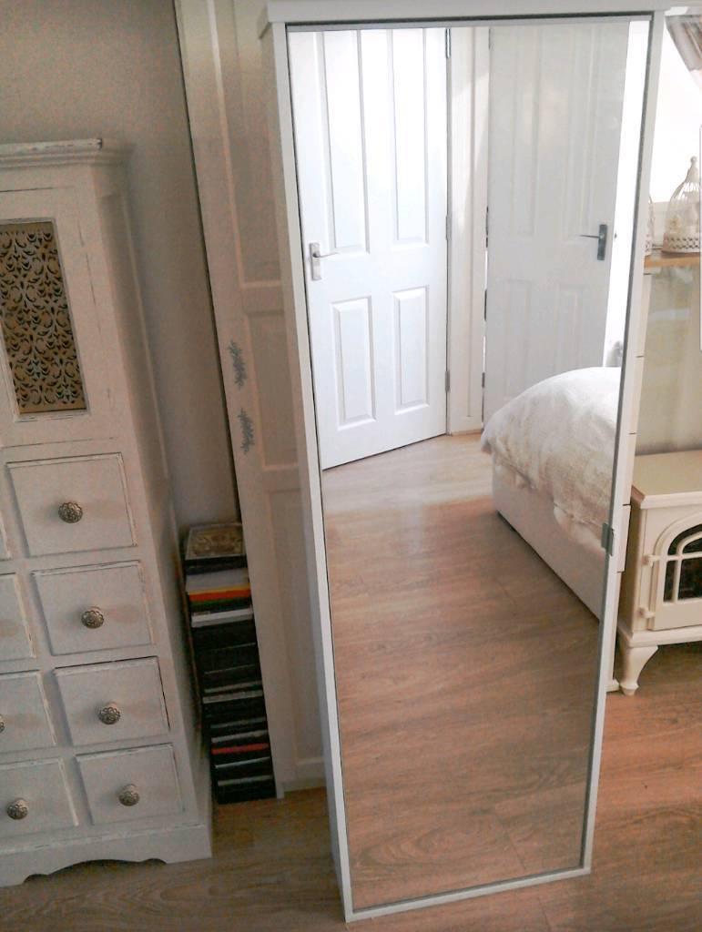 Slim Shoe Cabinet Large Slim Ikea Mirror Shoe Cabinet In Almondsbury Bristol