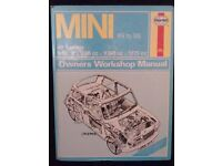 Mini Haynes Workshop Manual 1969 to 1985