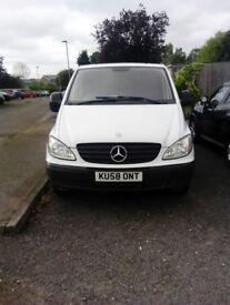 Mercedes Vito 2008 reg, 109 CDI Long, 2.1 diesel