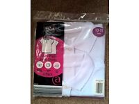 Brand new girls school polo t-shirts - 2 pack. Age 10-11 years