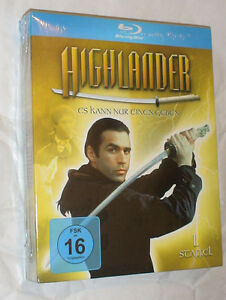 Highlander - Season Series 1 One Complete - Blu-ray Box Set NEW & SEALED