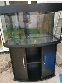 Juwel Vision 180 Black marine tropical cold fish tank aquarium (delivery installation)