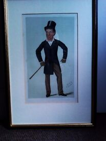 TRULY LOVELY FRAMED ORIGINAL RARE LTD EDITION PRINT OF THE LORD, PHOTO, PICTURE, PANTING