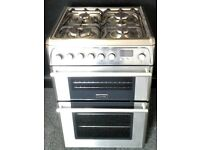 CANNON USED DUAL FUEL COOKER + FREE BH ONLY POSTCODES DELIVERY & 3 MONTHS GUARANTEE