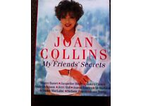 ORIGINAL FAMOUS JOAN COLLINS 'MY FRIEND'S SECRETS' TRULY EVERGREEN BOOK