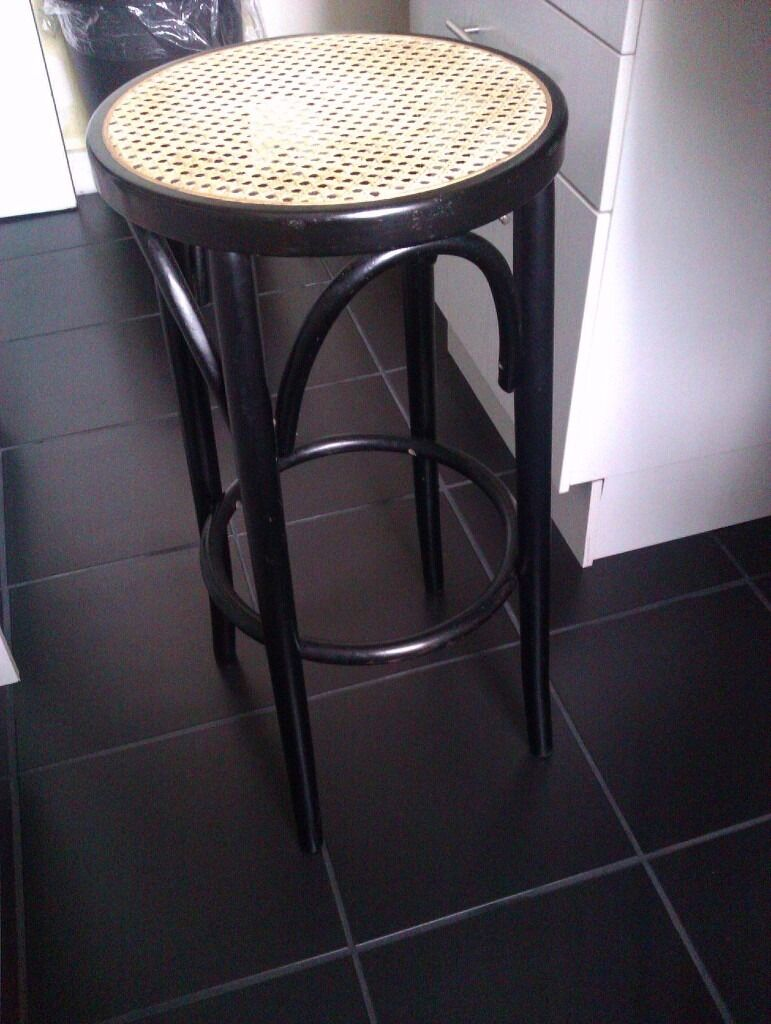 ONLY ONE VERY GOOD QUALITY BLACK REAL WOOD HIGH STOOL, CHAIR, SEATin Clapham, LondonGumtree - ONLY ONE BUT A VERY GOOD QUALITY REAL WOOD HIGH BLACK STOOL THIS IS JUST FOR £25