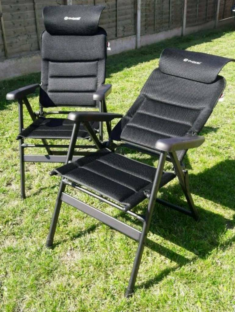 Terrific Garden Camping Reclining Chairs Outwell In Ossett West Yorkshire Gumtree Ibusinesslaw Wood Chair Design Ideas Ibusinesslaworg