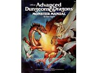 AD&D Advanced Dungeons & Dragons Monster Manuals Wanted