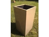 large modern plant pot or planter