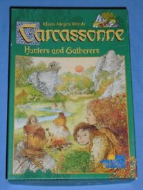 'Carcassonne Hunters & Gatherers' Board Game