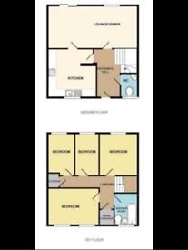 4 Bedroom House To Let Rent Telford TF1