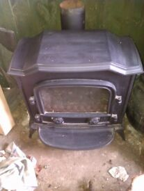 gas fire, gas stove ,woodburner look a a like