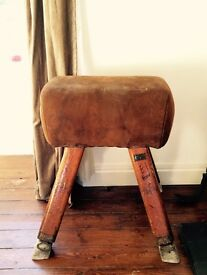 Vintage Gym Pommel Horse