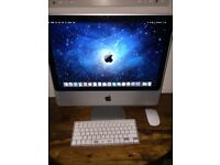 2017 iMac with wireless keyboard and mouse