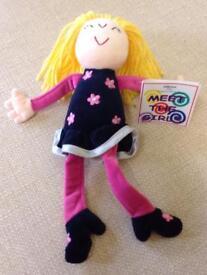 NEW M&S MEET THE GIRLS Soft Doll
