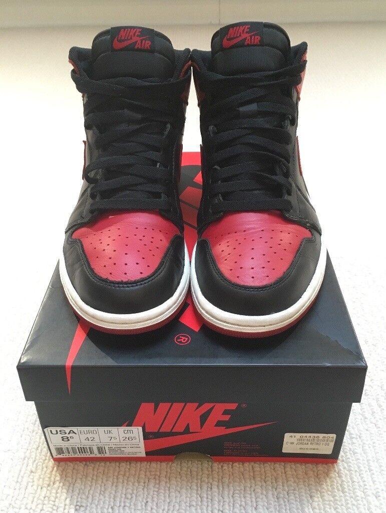 f86cd7065733 Nike Air Jordan Bred 1 2013 Release