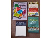 4 new workshop / activity books for people with learning disabilities / autism