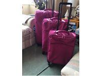 Suitcase matching set of three
