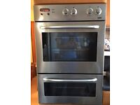 ZANUSSI ZDM869X BUILT IN DOUBLE OVEN - STAINLESS STEEL